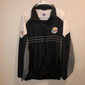NFL Pittsburgh Steelers Windbreaker Jacket